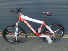 Red Extreme gents mountain bike