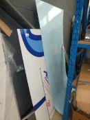 Quantity of aluminium signs and sheeting