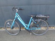 Pulse Vitesse blue ladies electric bike