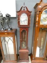 Dark wood modern Grandfather clock
