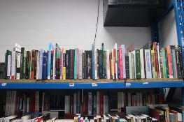 Selection of hardback and paperback reference material books and study books by Emerald, Wiley and