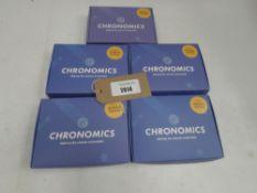 5x Chronomics Covid-19 tests