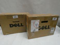 2x Dell toner cartridges