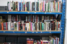 Large selection of hardback and paperback novels, self help books, autobiographies, etc