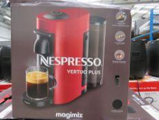 (TN71) Nespresso vertuo plus magimix coffee machine