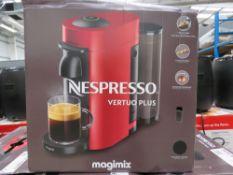 (TN73) Nespresso vertuo plus magimix coffee machine