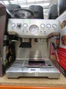 3038 Unboxed Sage Barista express coffee machine