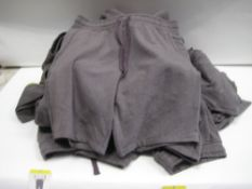 Bag containing approx 25 original Jacks manufacturing company sports shorts in grey