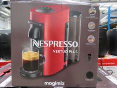 (TN72) Nespresso vertuo plus magimix coffee machine