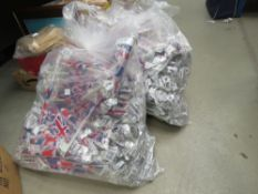 2 large bags of car Union Jack flags