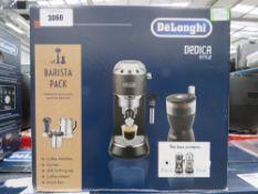 (TN75) DeLonghi Dedica style coffee machine