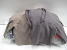 Bag containing approx 25 pairs of Jacks New York sports shorts in brown and grey