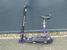 Wired electric scooter (no charger)