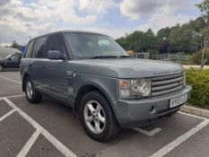 KY03 AJX, Land Rover, Range Rover HSE TD6 Auto, 2926cc in green, first registered 01/03/2003, MOT
