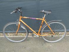 Dawes bike in burnt orange