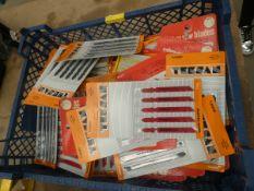 Box of jigsaw blades
