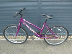 Townsend Brooklyn bike in purple
