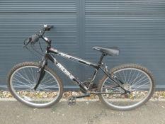 Pro Bike mountain bike in grey