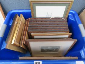 Box of etchings and engravings