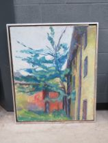 Michael Evans 1968 oil on canvas