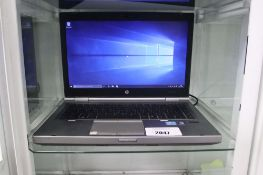 HP Elitebook 8470P laptop, intel i5 3rd gen processor, 4gb ram, 500gb storage, Windows 10 installed,
