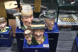3 boxed Royal Doulton character figures to include Royal Doulton Collection Special Edition 'The