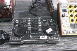 Hercules mixing control panel