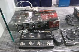Line 6 M9 Stomp Box model pedal unit with box and psu
