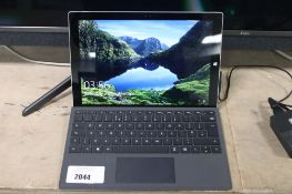 Microsoft Surface Pro 3 tablet with touch cover keyboard, soft carry case and psu, intel i5 4th