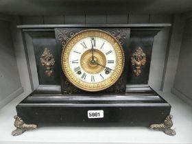 American mantel clock by Ansonia