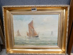 Maritime oil on canvas