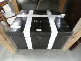 Metal deeds box