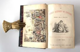 George Abbott A'Beckett : The Comic History of England, 1864. Two volumes in one.