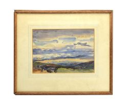 In the manner of Hercules Brabazon Brabazon (1821-1906), A loose landscape, unsigned, watercolour,