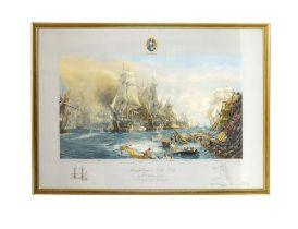 After William Lionel Wyllie (1851-1931), 'Trafalgar 2.