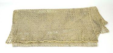 An Art Deco sequinned shawl