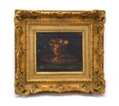 After the Spanish School, from the Atelier of Miguel Canals, A cup and bowl, unsigned,