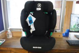 Black Maxi-Cosi booster seat