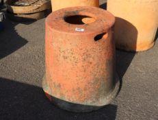 Terracotta rhubarb forcer (no lid)