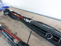 Bundle containing 4 Shakespeare fishing rods
