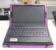 2206 - Lynix 1010B tablet 1.1 unit with attachable keyboard, Intel Atom processor, 2gb ram, 32gb