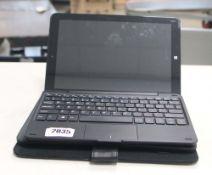 2216 - Lynix 1010B tablet 1.1 unit with attachable keyboard, Intel Atom processor, 2gb ram, 32gb