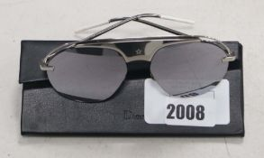 Pair of Dior sunglasses with carry case