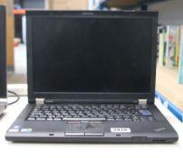 2041 - Lenovo Thinkpad 410 laptop, Intel i5 M series processor, 4gb ram with psu (no hdd)