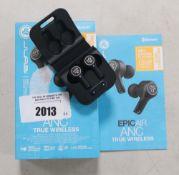 JLab ANC True Wireless earbuds in box