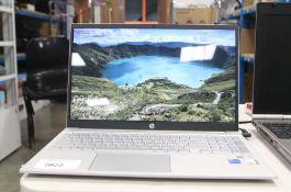 2249 - HP Pavilion laptop model 15-EG0040NA, Intel core i5 11th gen processor, 8gb ram, 512gb