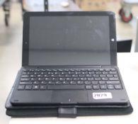 2210 - Lynix 1010B tablet 1.1 unit with attachable keyboard, Intel Atom processor, 2gb ram, 32gb