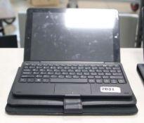 2212 - Lynix 1010B tablet 1.1 unit with attachable keyboard, Intel Atom processor, 2gb ram, 32gb