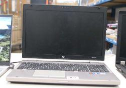 2042 - HP Elitebook 8570P laptop, Intel i5 3rd gen processor, 8gb ram, 128gb storage, Windows 10