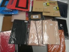 Bag of tablet protective cases and covers